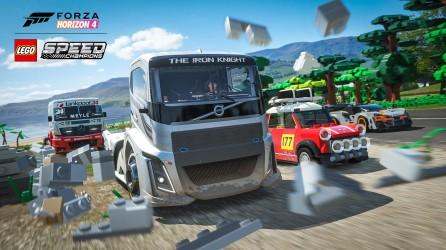 Forza Horizon 4 LEGO Speed Champions Iron Knight Smash Screenshot