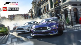 Forza Horizon 4 LEGO Speed Champions Mustang City Screenshot