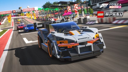 Forza Horizon 4 LEGO Speed Champions Senna Racetrack Screenshot