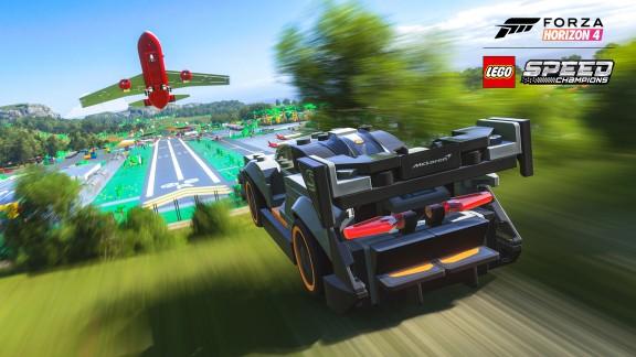 Forza Horizon 4 LEGO Speed Champions Senna Airport Screenshot