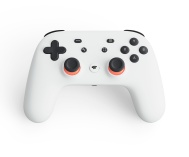 Google Stadia Controller (Clearly White)