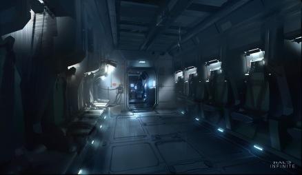 Halo Infinite Concept Art Pelican Low Power