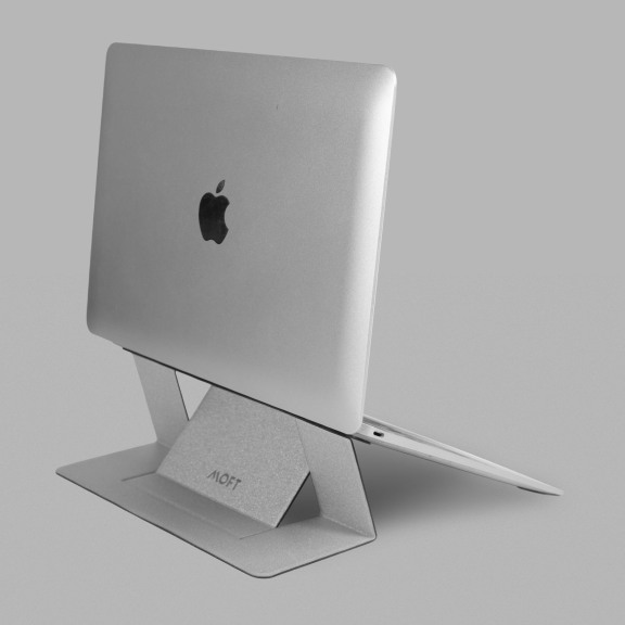 Moft_Laptop_Stand_Silver