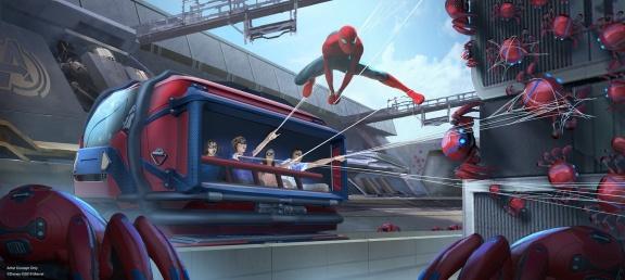 Disneyland_Avengers_Campus_SpiderManAttraction
