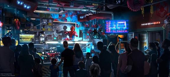 Disneyland_Avengers_Campus_SpiderManAttraction_2