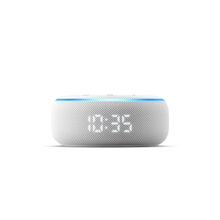 Amazon Echo Dot with Clock