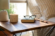 Echo Frames bedside table