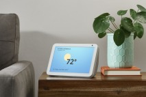 Echo Show 8 with weather