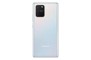 Galaxy S10 Lite (Prism White)