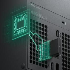 Xbox Series X Storage Expansion Slot
