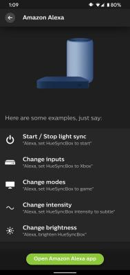 Philips Hue Play HDMI Sync Box Alexa