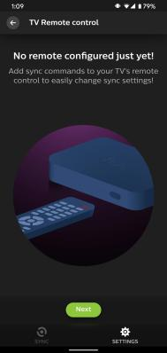 Philips Hue Play HDMI Sync Box TV Remote
