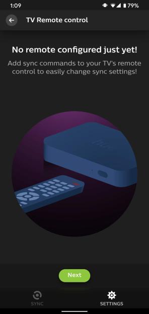 Philips Hue Play HDMI Sync Box TV Remote