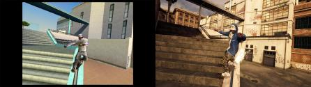 Tony Hawk's Pro Skater 1 and 2 (2020) - Before and After