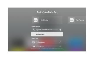 AirPods Audio Sharing iOS 14