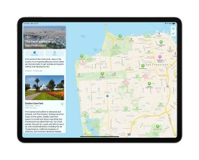 iPadOS 14 Maps