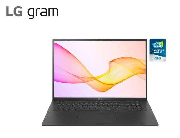 2021 LG Gram 17 (17Z90P) Black