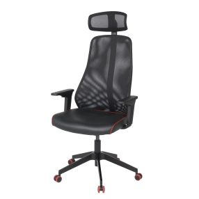 IKEA MATCHSPEL gaming chair (Black/Red)
