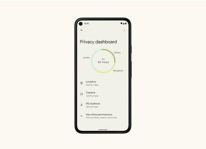 Android 12 - Privacy Dashboard