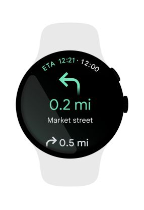 Google Wear OS Google Maps