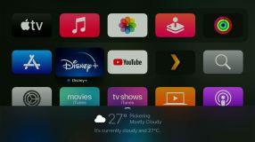 tvOS on the Apple TV 4K (2021)